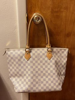 Louis Vuitton Neverfull Damier Azur White Saleya Tote Bag for Sale in Washington,  PA