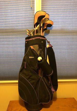 Wilson Slope women's golf clubs full set for Sale in Raleigh, NC