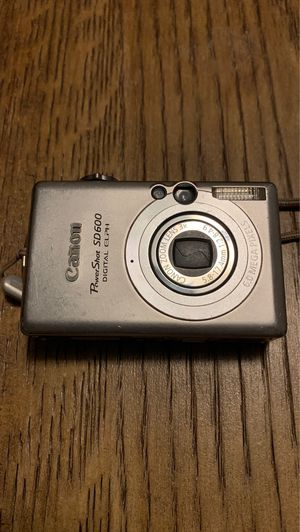 Canon Power Shot Digital SD 600 Camera for Sale in Placentia, CA