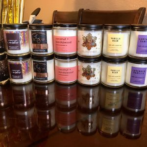 New bath & body scented single wick candles $10 each for Sale in Fontana, CA