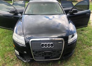 Damaged 2010 Audi A6 3.0 Supercharged clean title selling as is please read add transport company left ignition on now not starting for Sale in Fort Lauderdale, FL