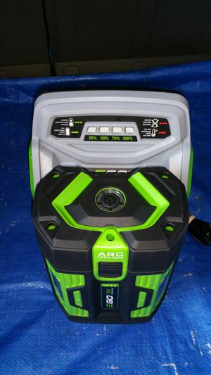 $300. EGO((((( 7.5AH)))) battery and fast charger for Sale in Evergreen, CO