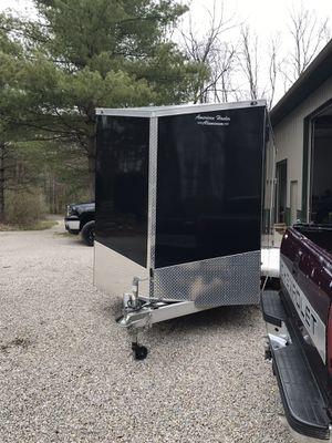 Box trailer all aluminum for Sale in Trafalgar, IN
