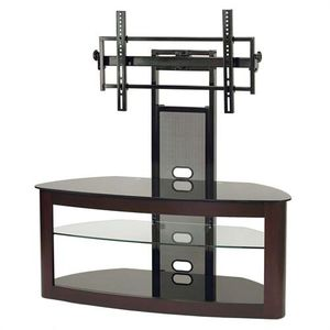 TransDeco Glass TV Stand with Mount for 35 to 80 inch Screens for Sale in Paducah, KY