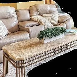 Leather Living Room Sofa Set w/ Coffee, End Tables for Sale in Boston, MA