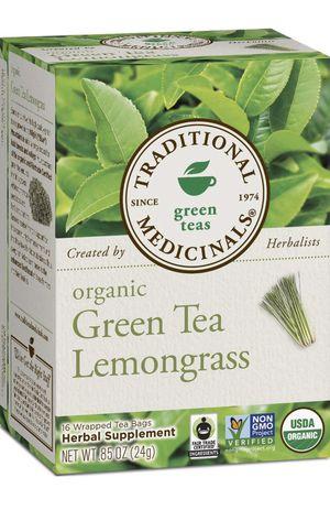Traditional Medicinals Organic Green Tea Lemongrass, 16 Tea Bags (Pack of 6) for Sale in Fontana, CA