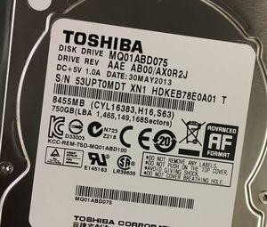 "TOSHIBA 750Gb 2.5"" SATA HARD DRIVE for Sale in San Jose, CA"