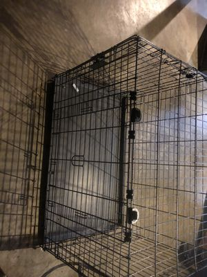 Double Door Dog Crate for Sale in Silver Spring, MD