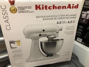 New Kitchen Aid Mixer for Sale in Rockville, MD