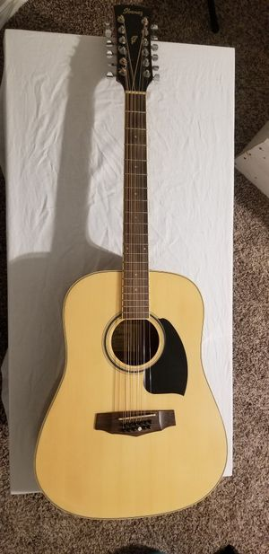 FINAL PRICE - Ibanez PerformanceSeries PF1512 Dreadnought 12-String Acoustic Guitar for Sale in Mesquite, TX