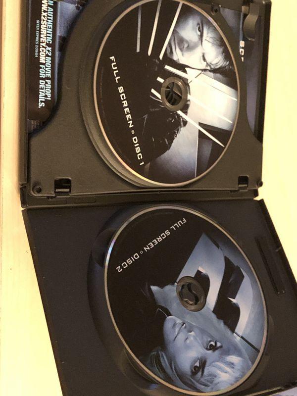 X2: X-men United dvd