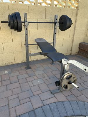 Weight Bench $60 for Sale in Chandler, AZ