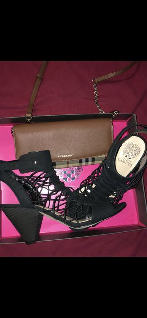 Shoes and Burberry hand purse for Sale in Rolling Hills Estates, CA