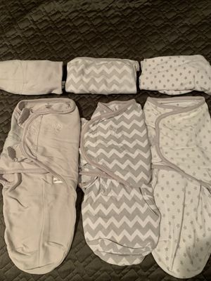 Lot of 6 SwaddleMe Swaddles Sz S 0-3 Months for Sale in Glencoe, IL