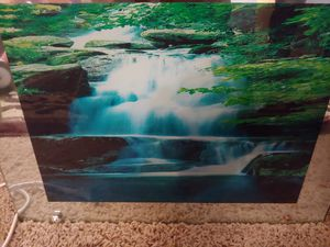 Picture with water and bird sound and light for Sale in Kent, WA