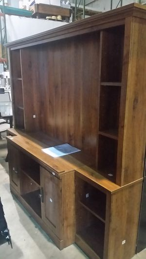 """Brand new media center holds up to 70"""" inch tv for Sale in NC, US"""