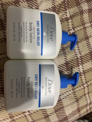 Dove Fragrance Free Body Lotion for Very Dry Skin 15.8 oz for Sale in MERRIONETT PK, IL