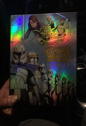 The clone wars 1-5 seasons collectors edition for Sale in Lawndale, CA