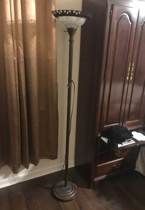 Victorian style floor lamp 69 inches tall for Sale in Auburndale, FL