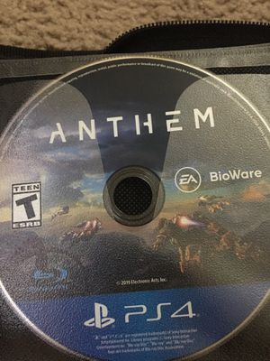 Anthem (ps4) for Sale in Morrow, GA