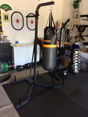 Punching bag with stand for Sale in Wesley Chapel, FL