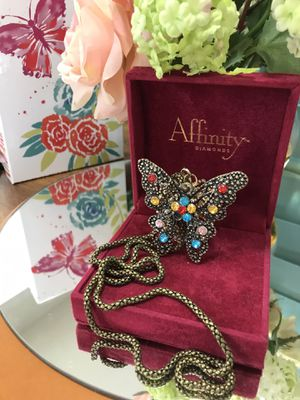 Beautiful!!!! Butterfly 🦋 Necklace for Sale in Gainesville, VA