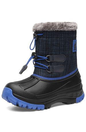 Kids Snow Boots Boys & Girls Winter Boots Lightweight Waterproof Cold Weather Outdoor Boots (Toddler/Little Kid/Big Kid) Toddler size 10.5 for Sale in Tempe, AZ