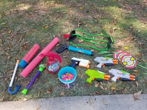 Nerf Guns, Squirt Guns & Water Balloon Equipment for Sale in Cumming, GA