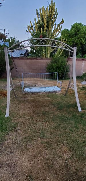 Patio bench swing for Sale in West Covina, CA
