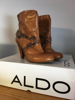Aldo Tan Boots (37B) for Sale in Stamford, CT