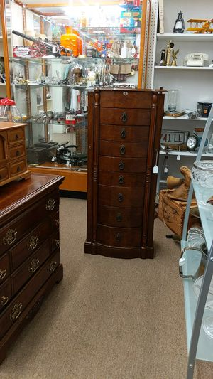 Tall Jewelry Armoire for Sale in Mesa, AZ