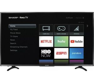 "Sharp 58"" class 4k ultra hd ROKU TV for Sale in Nashville, TN"