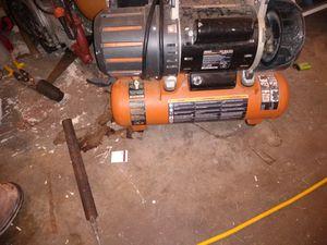 Ridgid compressor for Sale in Tacoma, WA
