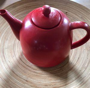 Red Tea Pot for Sale in Alexandria, VA