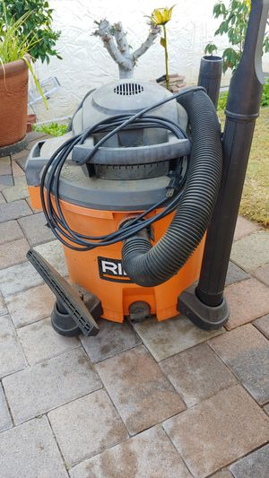 Wet Dry Vac by Ridgid for Sale in Mission Viejo, CA