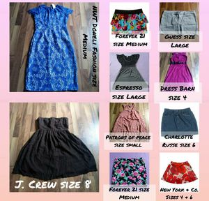 Womens clothing. Multiple sizes for Sale in Beaumont, CA
