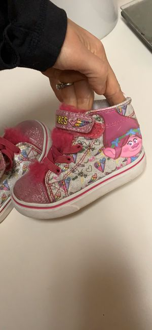 $5 Trolls toddler girls high tops. Size 8 for Sale in Madison, WI