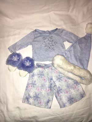 American Girl Doll Snowflake Pajama Set for Sale in Hillsboro, OR