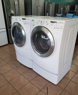 Washing machine with instant drying available for $900 December giveaway price. Dm if interested for Sale in Nevada, IA