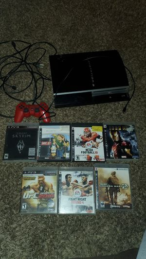PS3 with one controller for Sale in Kingsburg, CA