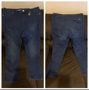 Blue Michael Kor Jeans Size 16 Used only once for Sale in Whittier, CA