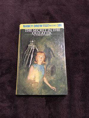 Nancy Drew Book: The Secret in the Old Attic by Carolyn Keene for Sale in Harrisonburg, VA