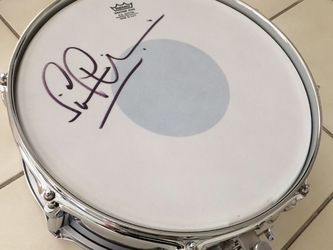 Simon Phillips Signed Snare Drum for Sale in New Port Richey,  FL