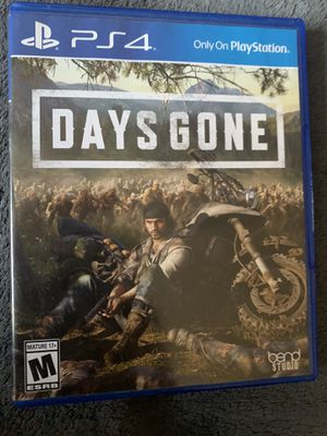 days gone 25.00$$ like new for Sale in Oklahoma City, OK