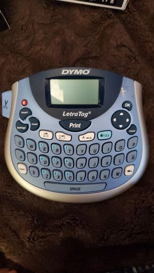 "Dymo* Label Maker/Printer ""LetraTag"" only $15 for Sale in Shoreline, WA"