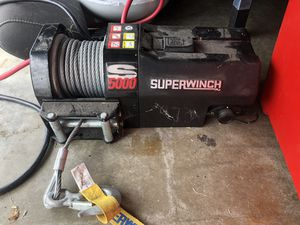 SuperWinch S5000. Used once. for Sale in Huntington Beach, CA
