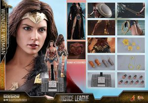 Hot Toys 1/6 Justice League Wonder Woman Deluxe Sixth Scale Figure MMS451 for Sale in Ashburn, VA
