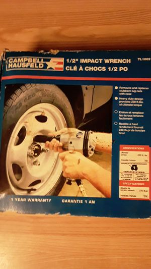 1/2 impact wrench for Sale in San Antonio, TX
