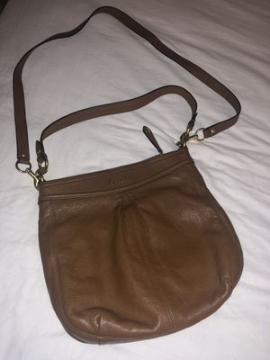Coach Leather Messenger Bag for Sale in Sacramento, CA