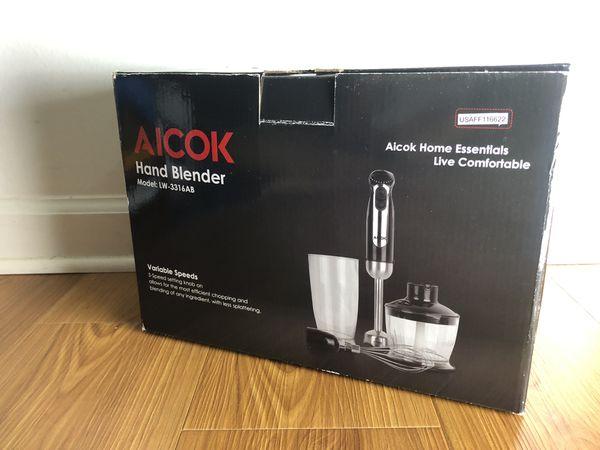 Aicok Hand Blender New in Box